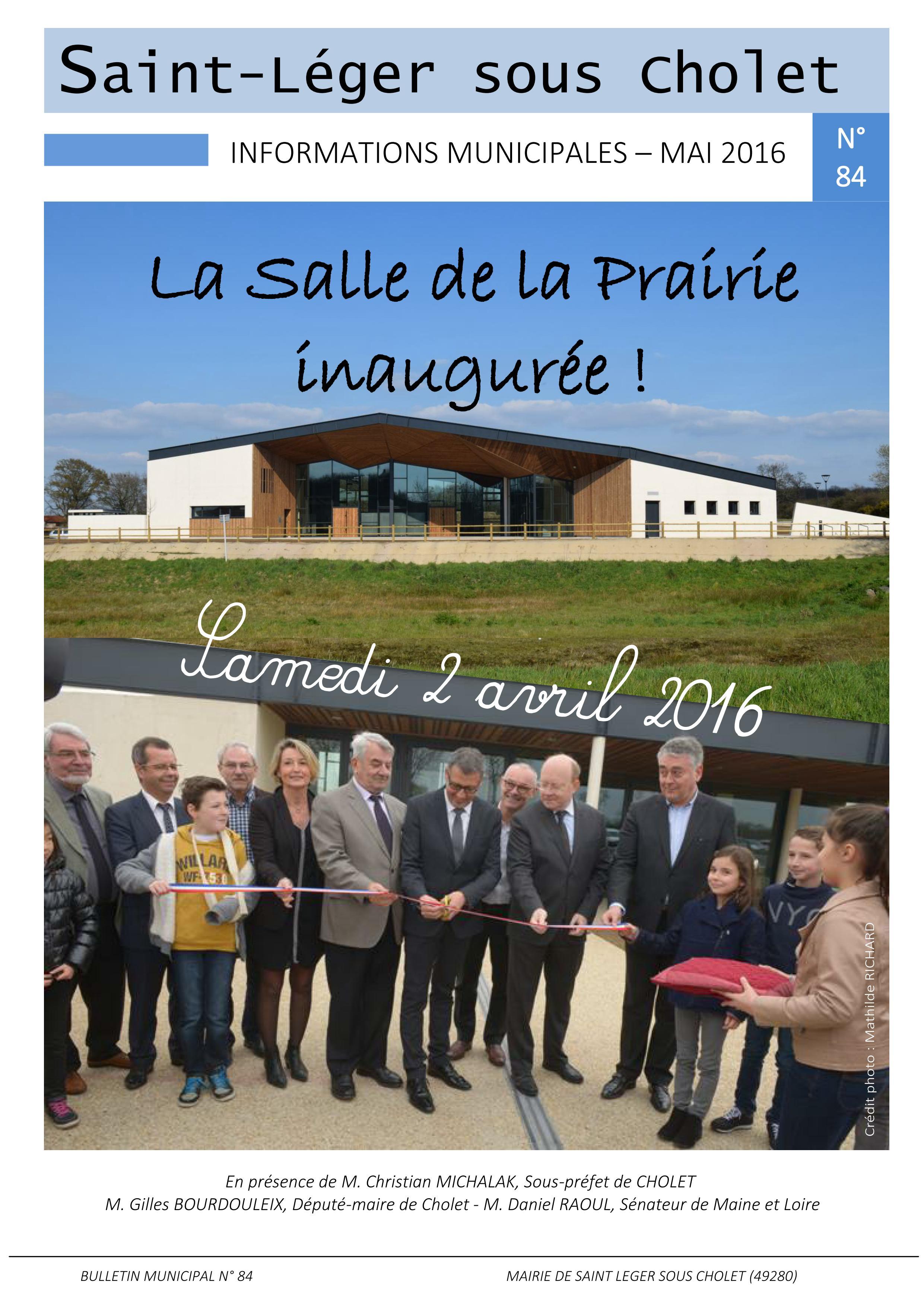 Une mai 2016