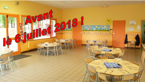 RESTAURANT SCOLAIRE – INSCRIPTIONS 2018/2019