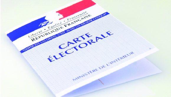 Elections régionales et départementales les 20 et 27 juin 2021. Les demandes d'inscription sur les listes électorales, en vue de participer au scrutin, seront à déposer en mairie au plus tard le vendredi 14 mai 2021.