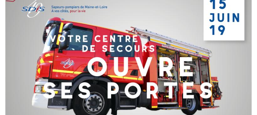 SDIS 49 : les centres de secours du département ouvrent leurs portes !