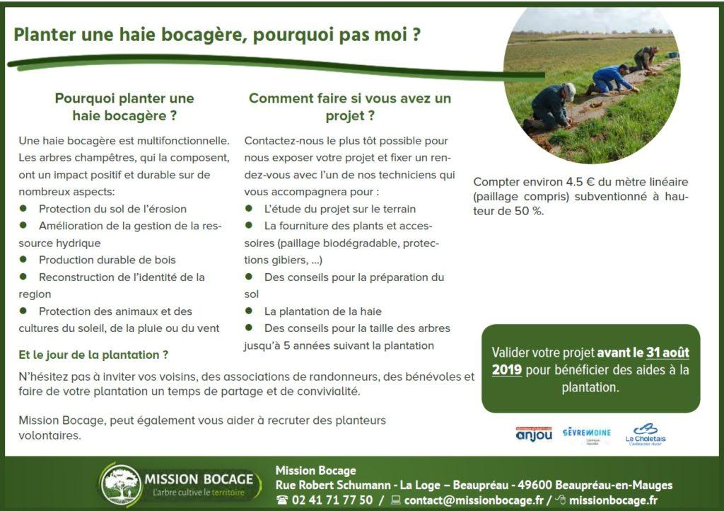 Environnement   Mairie de Saint Léger sous Cholet