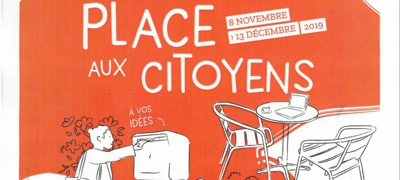 Place aux citoyens, au collège Trémolières à Cholet, 2 rendez-vous gratuits et ouverts à  tous pour co-construire avec les habitants une action solidaire, pour découvrir  une expo ludique et interactive sur la citoyenneté, et pour échanger dans une ambiance conviviale
