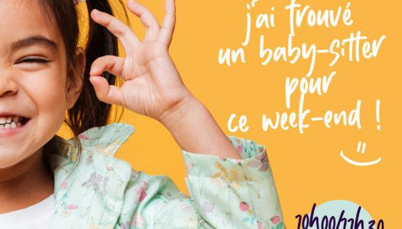 BABY-SITTING DATING :                 7 mars 2020 au Pôle culturel