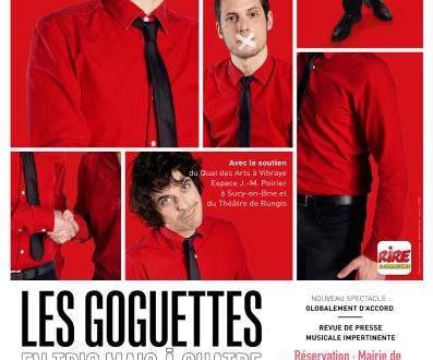 SPECTACLE : LES GOGUETTES le 20 mars à ST LÉGER
