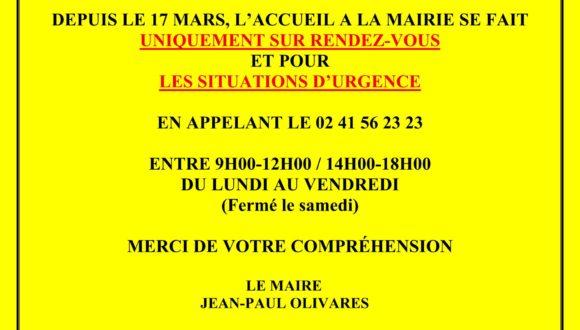 MAIRIE-MESURES D'URGENCE