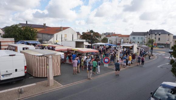 Marché dominical de St-Léger